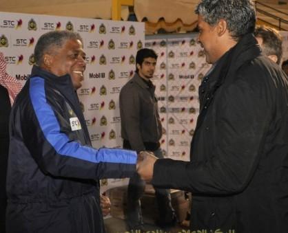 ريكارد يزور نادي النصر ويلتقي اللاعبين